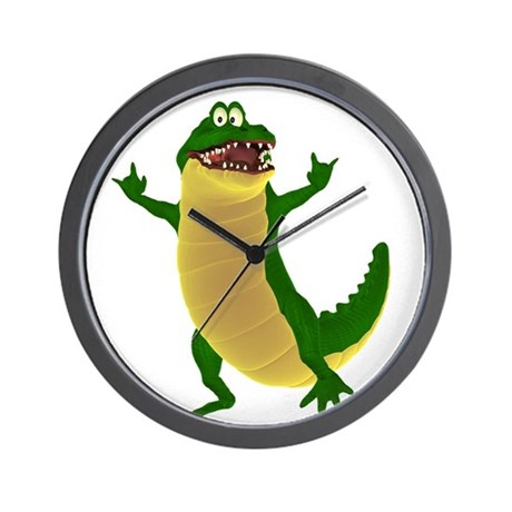 Crawley Croc Wall Clock