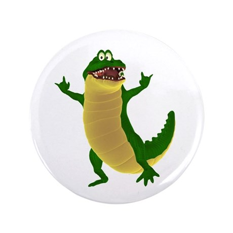 "Crawley Croc 3.5"" Button"