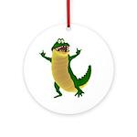 Crawley Croc Ornament (Round)