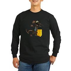 Rattachewie Long Sleeve Dark T-Shirt