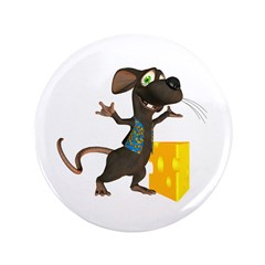 """Rattachewie 3.5"""" Button"""