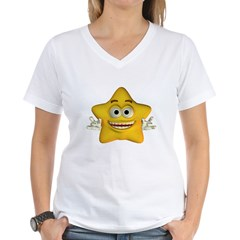 Twinkle Star Women's V-Neck T-Shirt