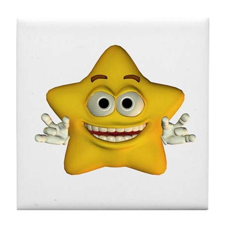 Twinkle Star Tile Coaster
