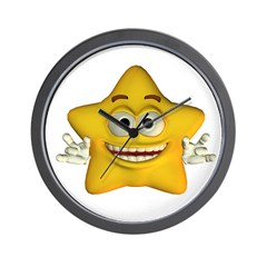 Twinkle Star Wall Clock