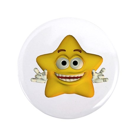 "Twinkle Star 3.5"" Button"
