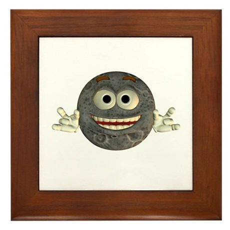 Twinkle Moon Framed Tile