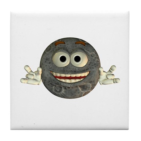 Twinkle Moon Tile Coaster