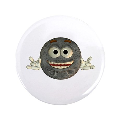 "Twinkle Moon 3.5"" Button"