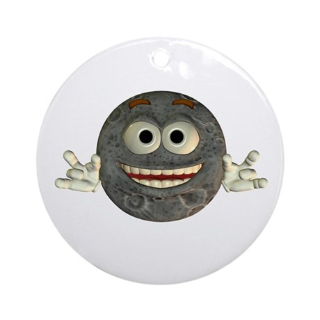 Twinkle Moon Ornament (Round)
