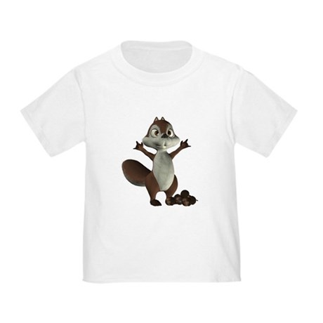 Nickie Squirrel Toddler T-Shirt