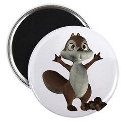 Nickie Squirrel Magnet