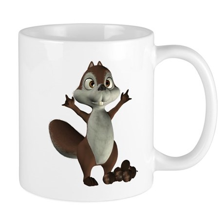 Nickie Squirrel Mug