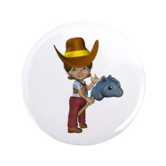 "Cowgirl Kit 3.5"" Button"