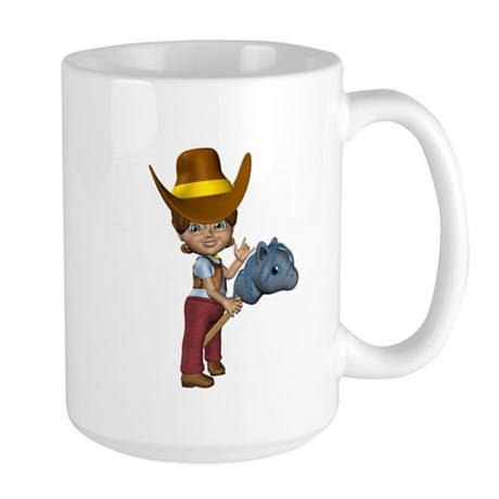 Cowgirl Kit Large Mug