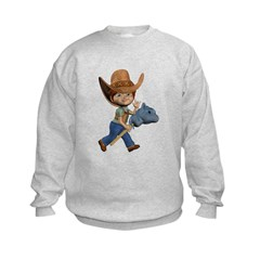 Cowboy Kevin Kids Sweatshirt