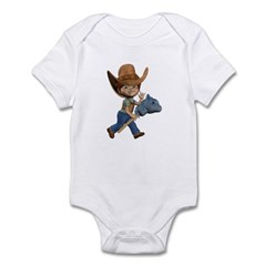 Cowboy Kevin Infant Bodysuit