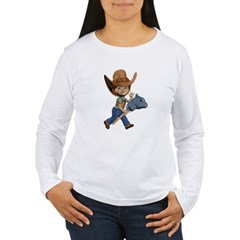 Cowboy Kevin Women's Long Sleeve T-Shirt