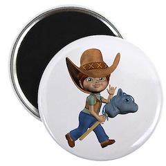Cowboy Kevin Magnet
