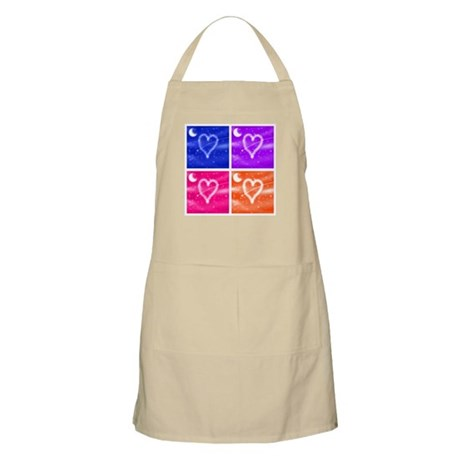 A Wish Your Heart Makes Tile BBQ Apron