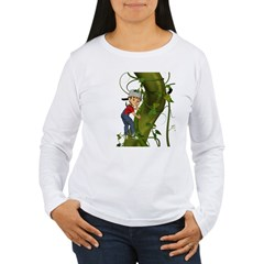 Jack 'N The Beanstalk Women's Long Sleeve T-Shirt