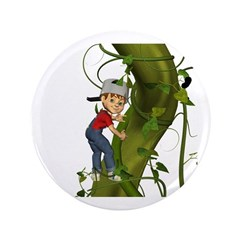 Jack 'N The Beanstalk 3.5&quot; Button