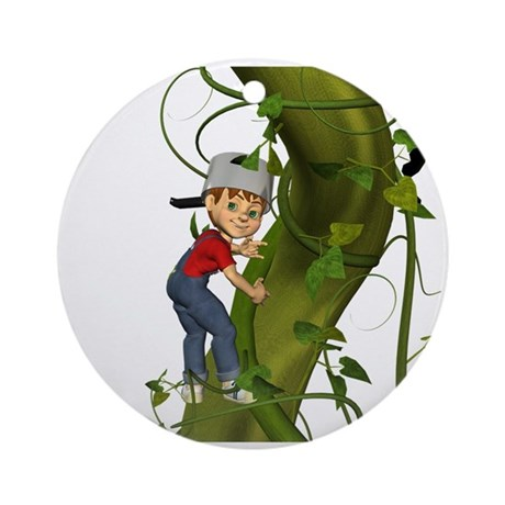 Jack 'N The Beanstalk Ornament (Round)