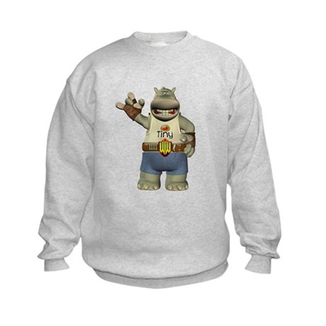 Heath Hippo Kids Sweatshirt