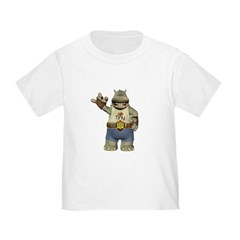 Heath Hippo Toddler T-Shirt