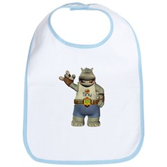 Heath Hippo Bib