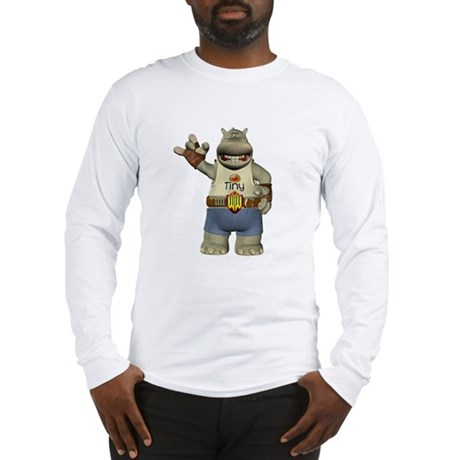 Heath Hippo Long Sleeve T-Shirt
