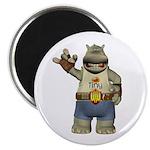Heath Hippo Magnet
