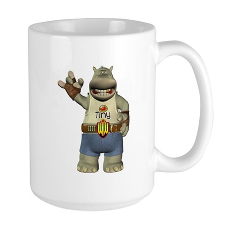 Heath Hippo Large Mug