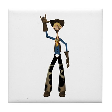 Hay Billy Tile Coaster