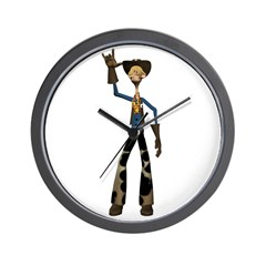 Hay Billy Wall Clock