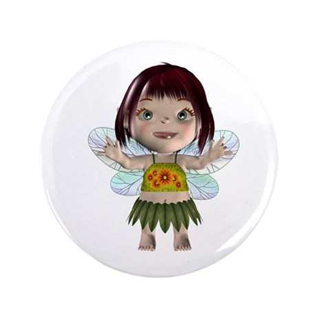 Blossom 3.5&quot; Button