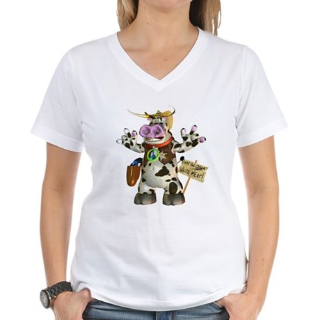 Billy Bull Women's V-Neck T-Shirt