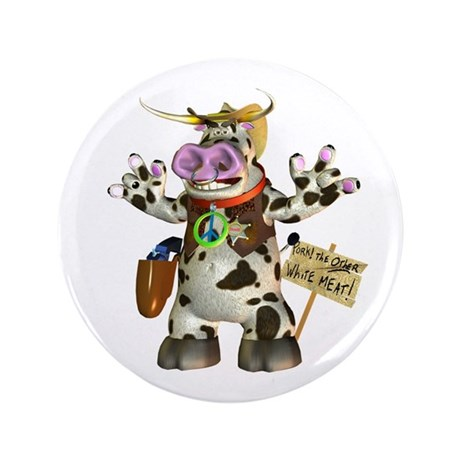 "Billy Bull 3.5"" Button"