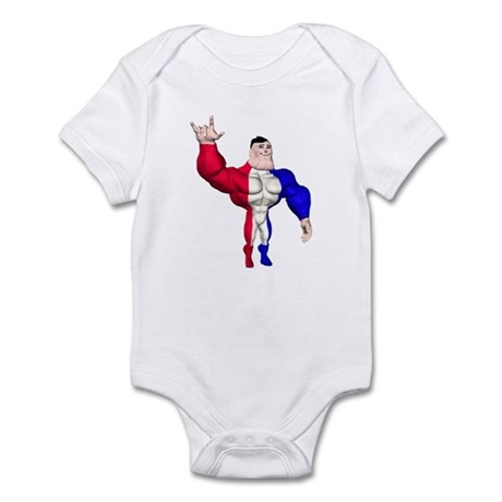 Alpha Man Infant Bodysuit
