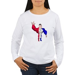 Alpha Man Women's Long Sleeve T-Shirt