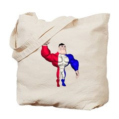 Alpha Man Tote Bag