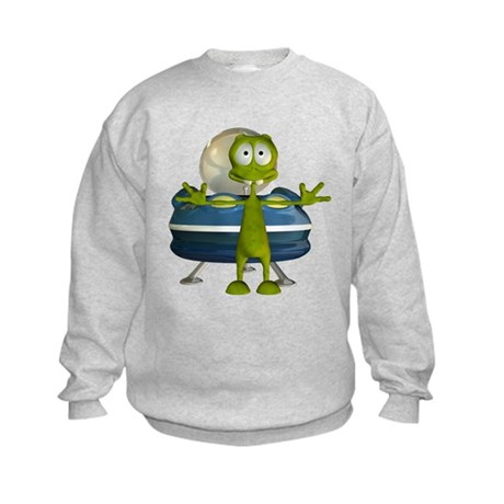 Al Alien Kids Sweatshirt
