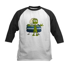 Al Alien Kids Baseball Jersey