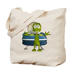 Al Alien Tote Bag