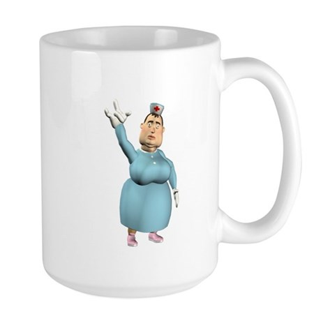 Bertha Large Mug