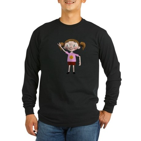 Dee Dee Long Sleeve Dark T-Shirt