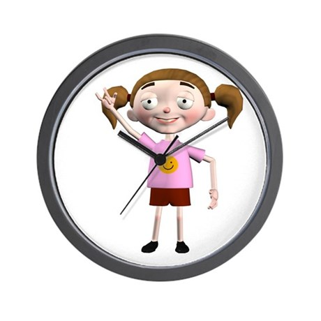 Dee Dee Wall Clock