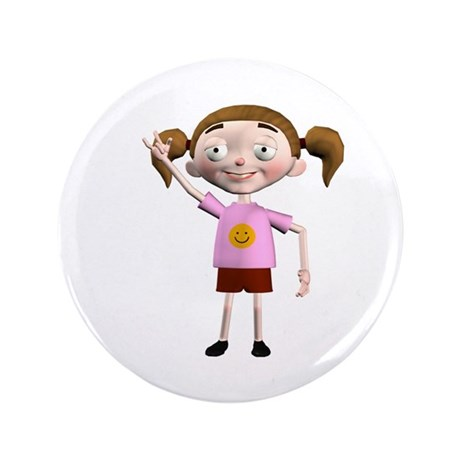 "Dee Dee 3.5"" Button"