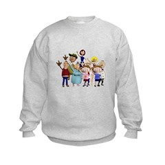 Family Portrait Kids Sweatshirt