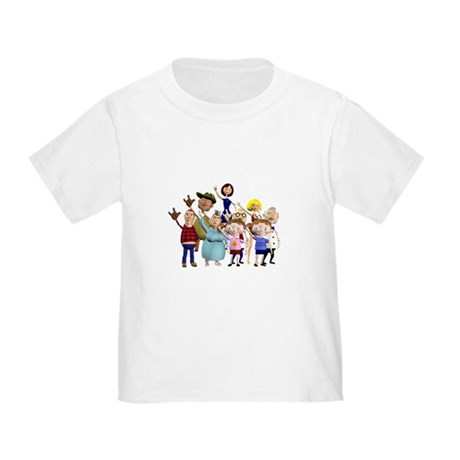 Family Portrait Toddler T-Shirt