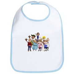 Family Portrait Bib